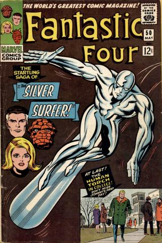Silver surfer - 1966 - Marvel Comics