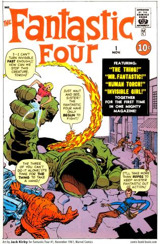 The Fantastic Four - 1961 - Marvel comics