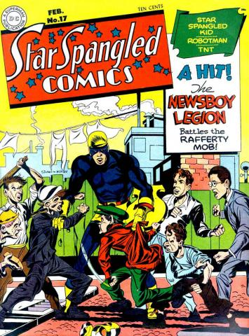 The Newsboy Legion - 1942 - DC