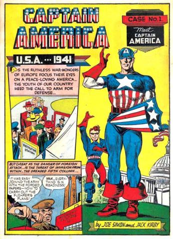 Captain America 1941 - Timely Comics
